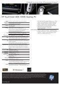 PSG Consumer 3C09 HP Desktop Datasheet - Location Spotlook - Page 2
