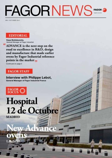 Hospital 12 de Octubre New Advance ovens