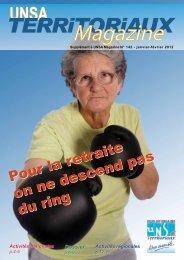 territoriaux magazine n°: 142. - UNSA Région des Pays de la Loire