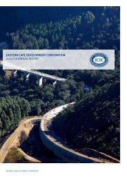 2007 / 2008 Annual Report - Eastern Cape Development Corporation