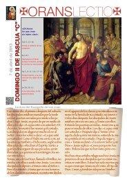 OL Domingo II Pascua C, PDF - Orans lectio