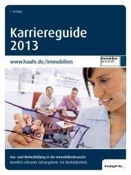 Karriereguide 2013 - Haufe.de