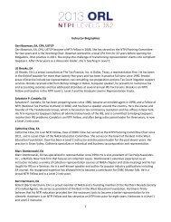 NTPI ORL Instructor Bios - National Association of Enrolled Agents