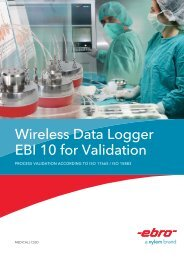 Wireless Data Logger EBI 10 for Validation - Ross Brown Sales