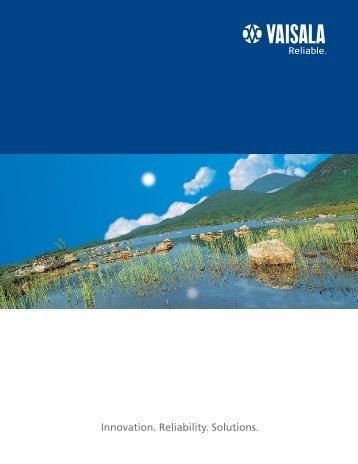 Vaisala general brochure (pdf, 2 278 KB)