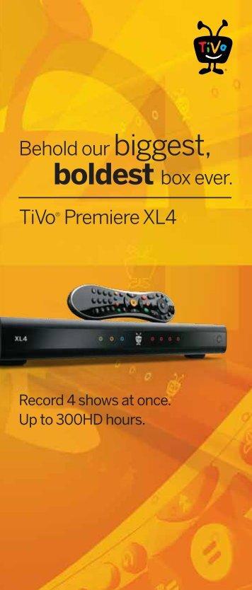 Premiere XL - TiVo