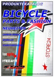 Produktekatalog 2013 - Star Bicycle