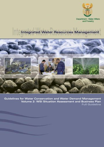 volume 2: wsi situation assessment and business plan - iwrm