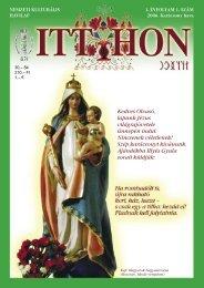 Kedves Olvasó, lapunk Jézus világrajövetele ünnepén indul ... - Niton