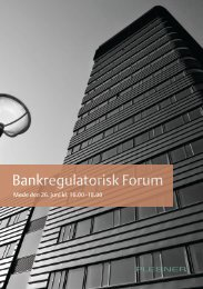 Bankregulatorisk Forum - Plesner