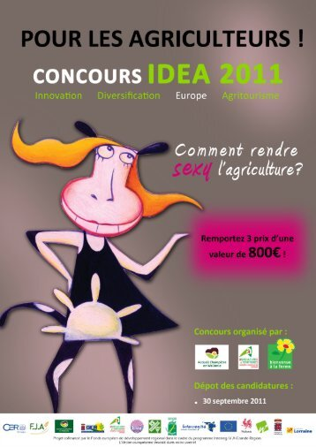 dossier candidature.indd - Chambre d'Agriculture