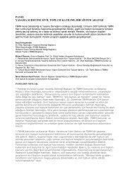 Panel Hakkında Bilgi - Yasama Derneği