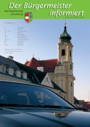 Der Bürgermeister informiert, Folge 4, Juli 2005 (2.00 - in Laxenburg