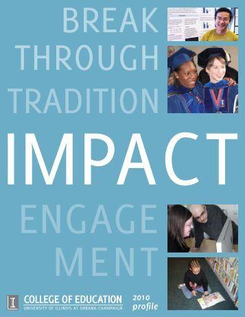 2010 Profile - College of Education - University of Illinois at Urbana ...