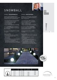 Datenblatt Snowball - Epstein-Design Leuchtenmanufaktur
