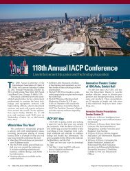 Conference Information - PDF - Police Chief Magazine