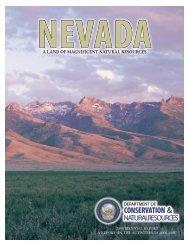 DCNR 2008 Biennial Report - The Nevada Department of ...