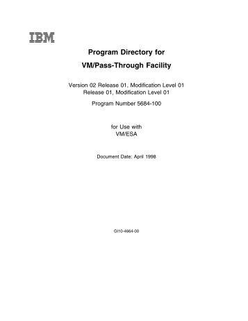 2 - z/VM - IBM