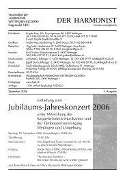 2006 - 3 - Harmonie Wettingen-Kloster