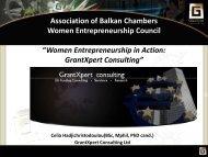 Women Entrepreneurship in Action: GrantXpert Consulting