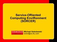 Servicer - sorcer
