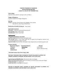 August 13, 2012 Approved - Leelanau County