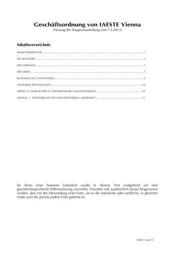IAESTE Vienna Geschaeftsordnung 2013.pdf - IAESTE Austria