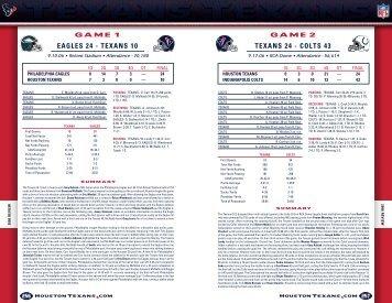 Texans Media Guide 2007 - Houstontexans.com - Official Website of ...