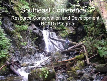 Coffey: Resource Conservation and Development (RC&D) Program