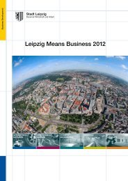 logistics - Stadt Leipzig