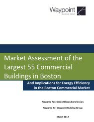Waypoint Building Group Large Commercial Study - Boston Green ...