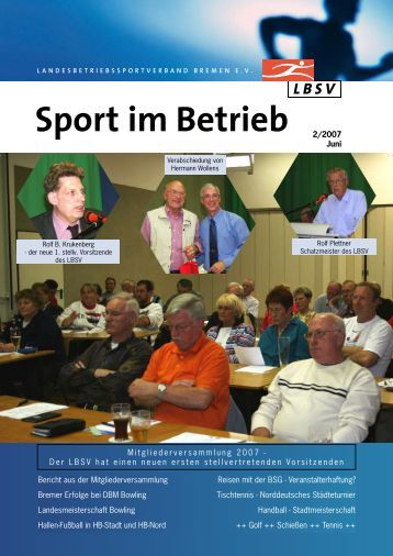 Ausgabe 2007-2 - LBSV Bremen