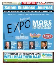 May 2012 - Salem Business Journal
