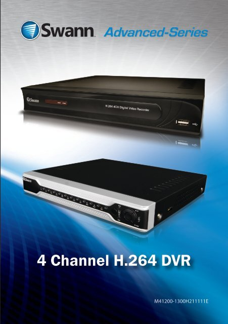 DVR4-1200 Operating Manual - Swann Communications