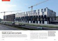 Geopolis: du gros œuvre aux façades - Sottas SA