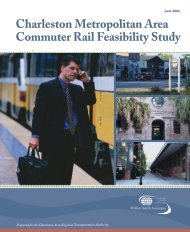 Charleston Metropolitan Area Commuter Rail Feasibility Study