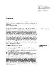 Fachkonzept BvB (pdf-Datei) - Netzwerk Weiterbildung