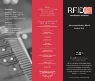 RFID - Delaware's Department of Technology and Information