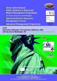 16 USA - The Management School London