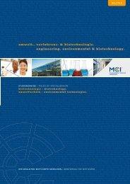 Biotechnologie - Lebensmittel Cluster