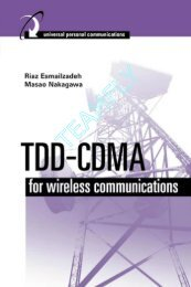 TDD-CDMA for Wireless Communications - Ik4hdq.net