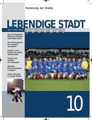 Journal 10 zum downloaden (PDF 2,9 MB - Lebendige Stadt