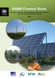 NAMA Finance Study - KfW Entwicklungsbank
