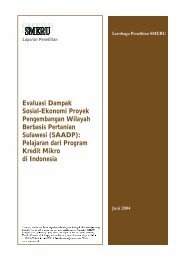 Evaluasi Dampak Sosial-Ekonomi Proyek Pengembangan Wilayah ...