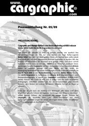 05/09 Cargraphic und Bilstein wollen's am Hockenheimring wirklich ...
