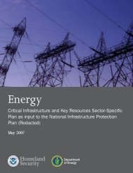 Energy - Applied Science Foundation for Homeland Security