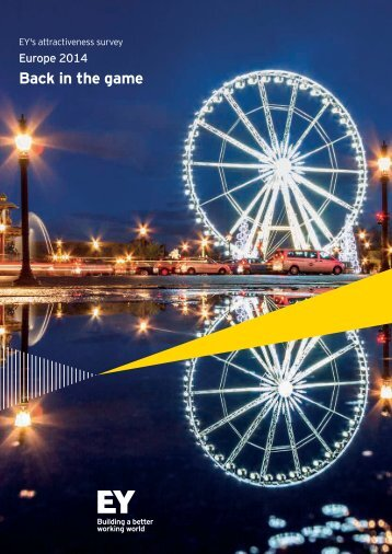 EY 2014 European attractiveness survey