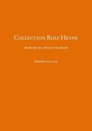 Jetzt herunterladen! - Collection Rolf Heyne