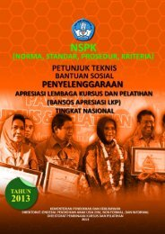 Bansos_ApresiasiLKP_2013 - Direktorat Jenderal Pendidikan Anak ...