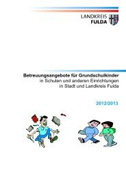 2012/2013 Betreuungsangebote für  Grundschulkinder in Schulen ...